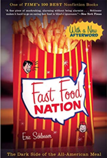 Fast Food Nations Book Cover