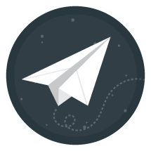 Illustration of a paper airplane