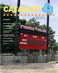 Catalyst D'Youville College student run newspaper August 2014