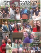 Catalyst D'Youville College student run newspaper Freshman Orientation Edition