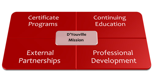 Mission of the Center for Professional Studies at D'Youville College