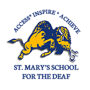 St. Mary's School for the Deaf logo