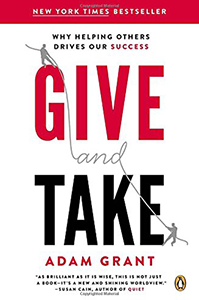 Book cover of Give and Take.