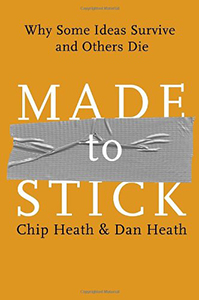 Book cover of Made to Stick.