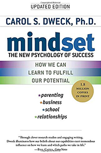 Book cover of Mindset.