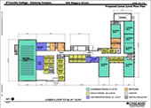 D'Youville Gateway Longview lower level floor plan