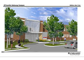D'Youville Gateway Longview site rendering