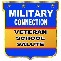 Military Connection Veteran School Salute