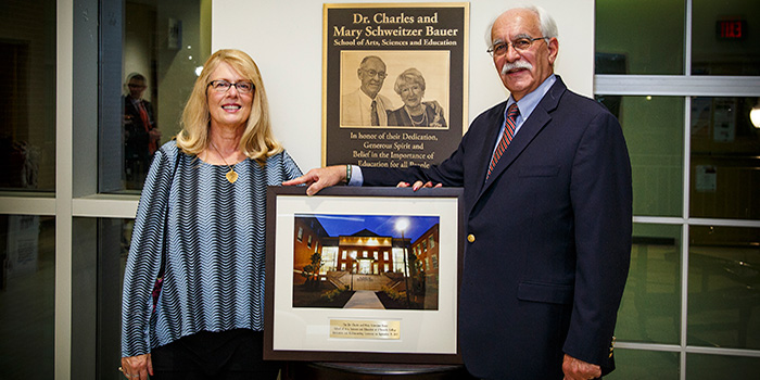 Dr. Charles and Mary Schweitzer Bauer