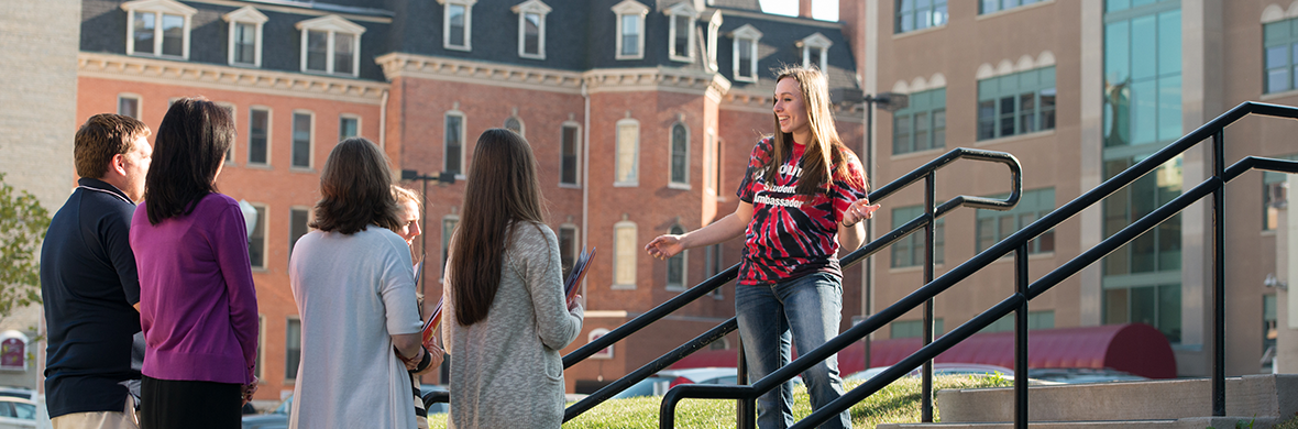 Visit to learn more about our exceptional academic programs. Take a campus tour and meet faculty and students. Maybe sit in on a class.