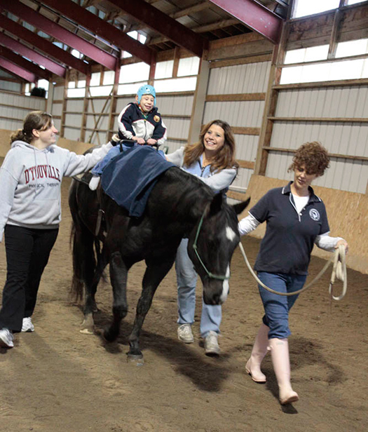 DYC Students Establish Hippotherapy Club