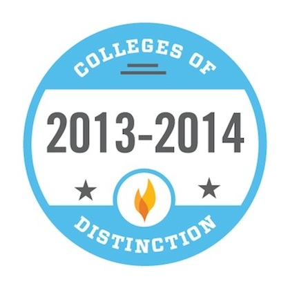 D'YOuville receives Colleges of Distinction Award