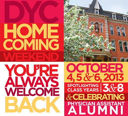 DYC Homecoming, Reunion Set for Oct. 4-6
