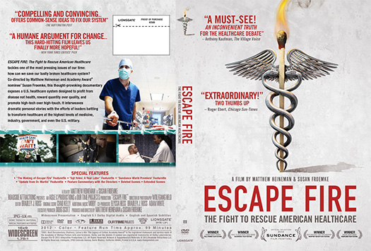 Escape Fire: Screening at D'Youville College Buffalo NY