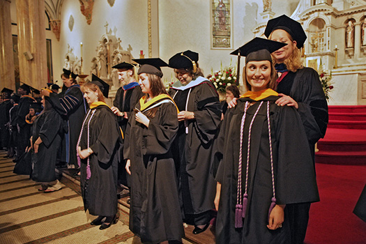 Baccalaureate and Hooding Service Set for May 16