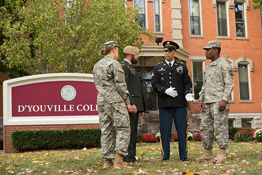 "D'Youville Ranked in Top Five ""Best for Vets"" Schools"