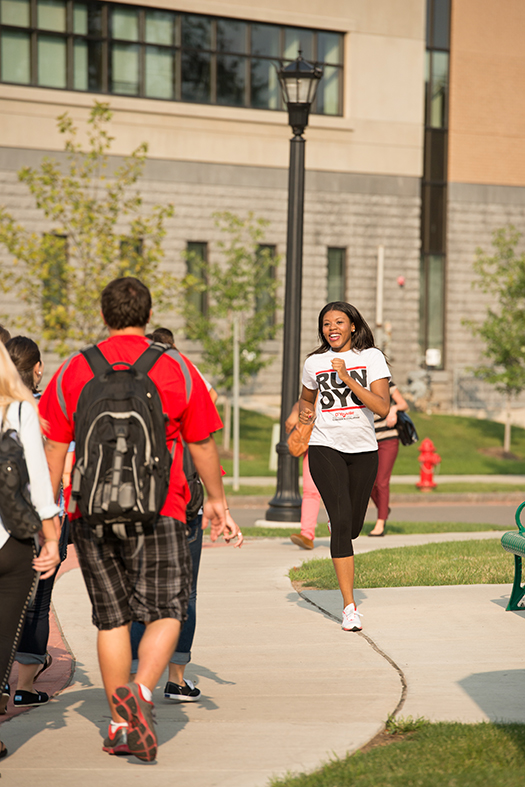 "D'Youville College to host 11th annual ""Putting Hunger on the Run"" race/walk on April 12, 2015"