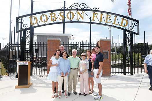 "DYC Names New Athletic Facilty ""Dobson Field"""