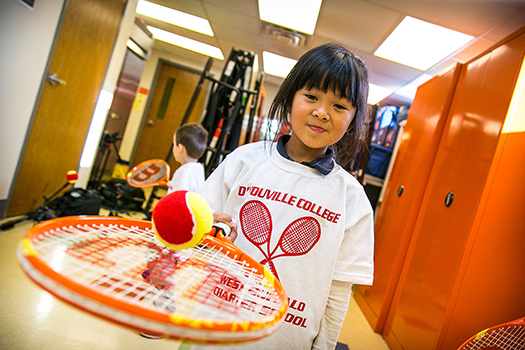DYC Tennis Program for Kindergarteners Receives 2nd Year Funding