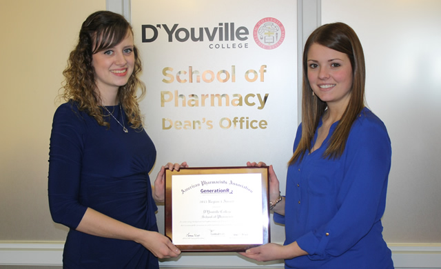 DYC Pharmacy Students Receive Award at National American Pharmacy Association Meeting