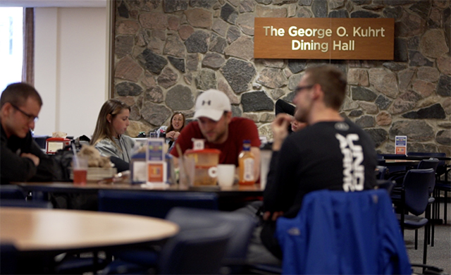 Campus Center Dining Hall Named for George O. Kuhrt