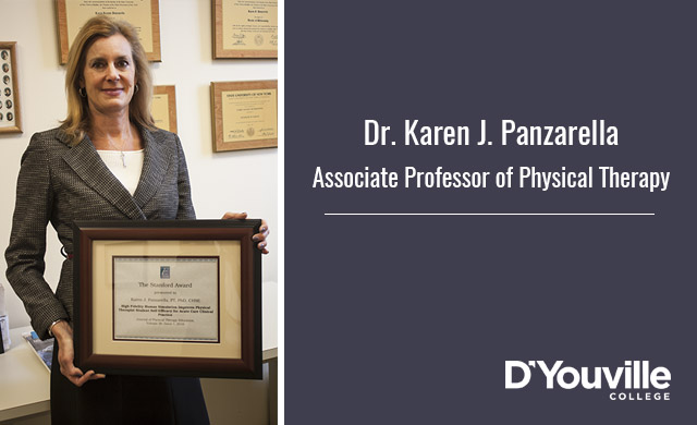 Physical Therapy Professor Receives Prestigious Award From National Organization