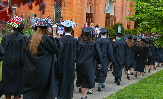 Traditional D'Youville Baccalaureate Ceremony Set for Friday May 19