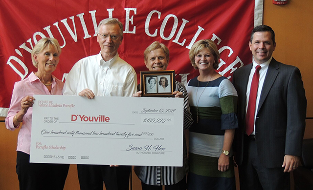 D'Youville Receives over $160,000 for Scholarships for Students in the Sciences