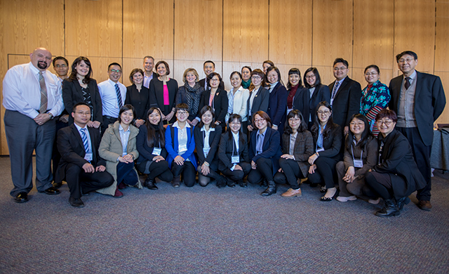 The GXTCM faculty members are on campus from February 11 to May 11 to take part in the Global Faculty Professional Institute (GFPI).