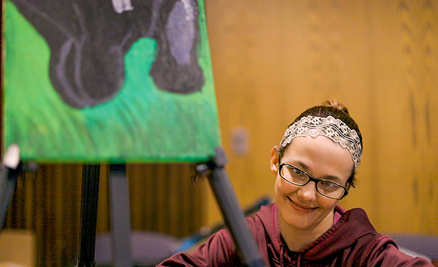 D'Youville's Occupational Therapy Students Get Artsy with Service