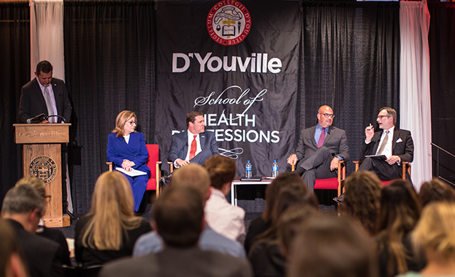 Panelists discuss the future of healthcare at D'Youville