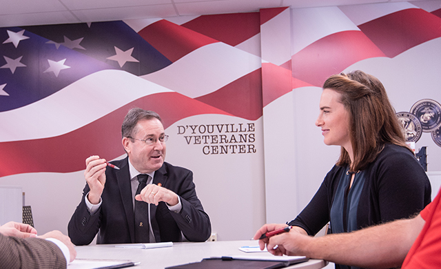 D'Youville Celebrates Veterans Day with Veteran Salute Event