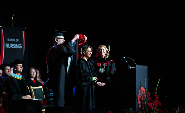 D'Youville College Holds Inaugural Fall Commencement