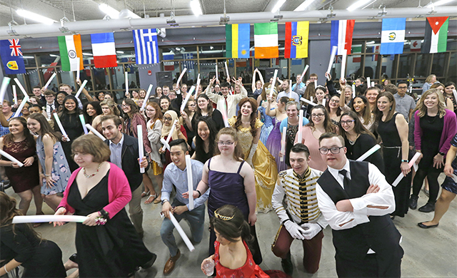 Occupational Therapy Department Hosts Inaugural 'Once Upon A Time' Prom