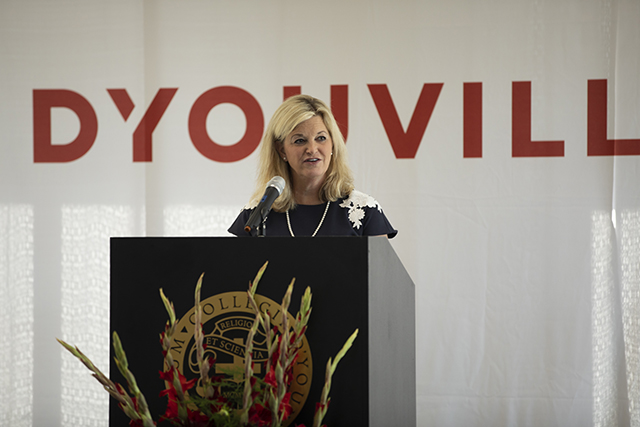 D'Youville President Lorrie Clemo