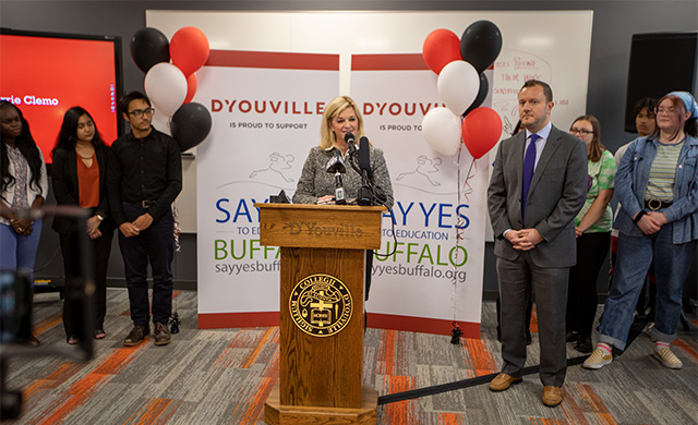 D'Youville to Offer Unlimited Say Yes Scholarships