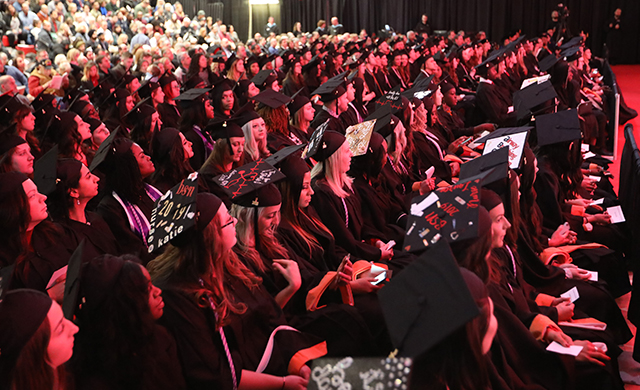 D'Youville Holds Fall Commencement Ceremony
