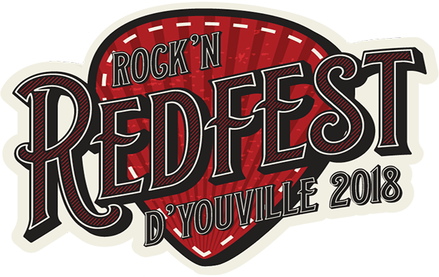 The Rock'N Redfest Logo