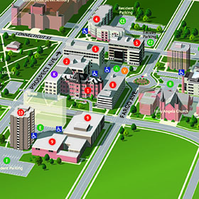 Campus Map image