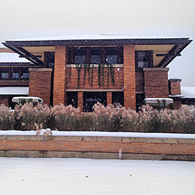Photo: Frank Lloyd Wright's Darwin Martin House