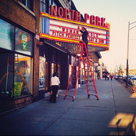 Photo: North Park Theater on Hertel Ave.