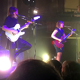 Photo: Sleater-Kinney performing