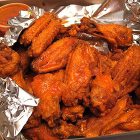Photo: Buffalo chicken wings
