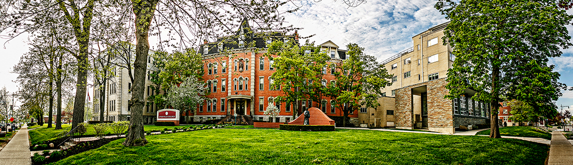 Koessler Administration Building on the D'Youville campus