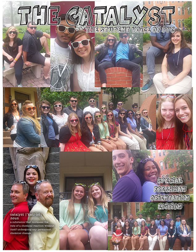 Catalyst Freshman Orientation issue cover