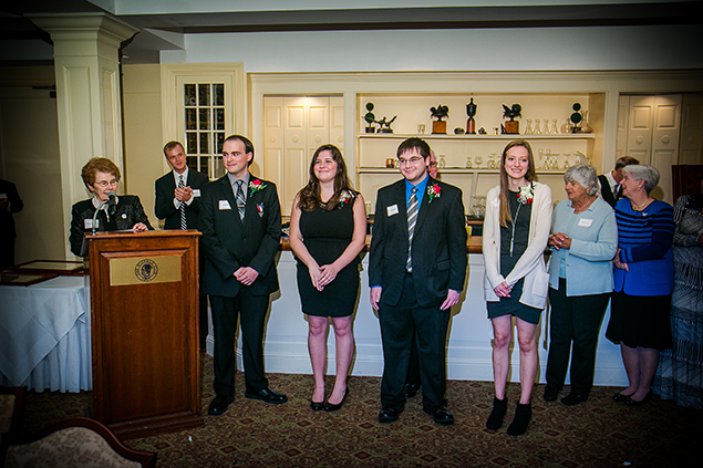 Photo: Dillon Scholarship recipients