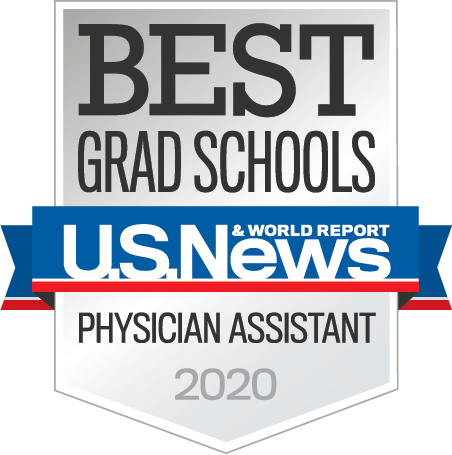 U.S. News and Reports Nationally-ranked Program Badge.