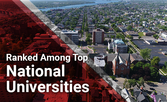 D'Youville Earns Ranking Among National Universities
