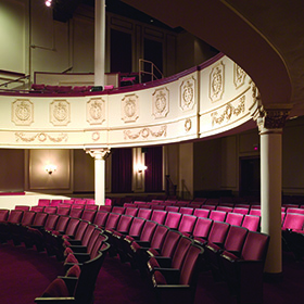 The interior of the kavinoky Theatre